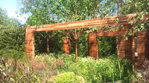 Homebase Garden Corten Steel Garden Design Eye