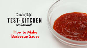 how to make barbecue sauce cooking light