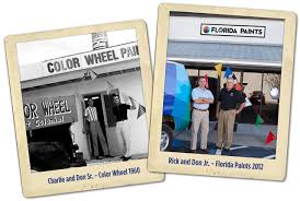 color wheel paint manufacturing company orlando home painting