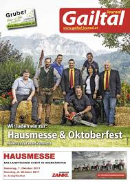 G Stige Sch E K Hen Gtj Oktober 2015 By Gailtal Journal Issuu