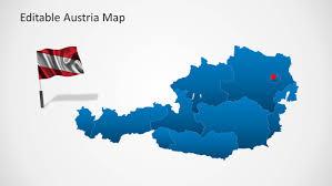 Austria Map Austria Map Template For Powerpoint Slidemodel