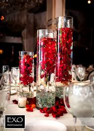gorgeous red and white wedding table decorations red white amp