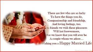 wedding wishes status a whom we adore wishing you a happy married