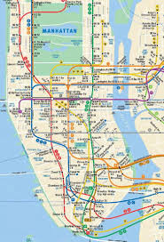 Map Of Brooklyn Ny Mta Gives Peek At Updated Subway Map With Second Ave Line Ny
