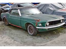 mustang for sale california 1969 ford mustang for sale classiccars com cc 508447