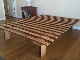 Make Bed Frame Simple Bed Frame Blueprints Forward Thinking Furniture
