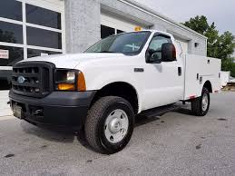 2008 Ford F350 Utility Truck - 2006 used ford super duty f 350 4x4 stahl utility body at west