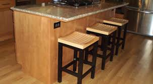 Kitchen Island Bar Stool Charming Round Wood Metal Bar Stools Tags Wood Metal Bar Stools