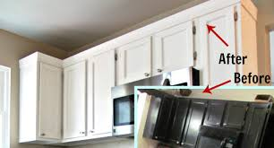 how to add crown molding to kitchen cabinets stone lawn edging ideas all you need to know about the dark green