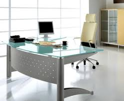 Glass Desk Design Classy Glass Top Office Desk With Latest Home Interior Design With