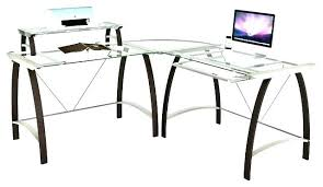 Glass Desk Office Depot Office Depot L Desk Mekomi Co