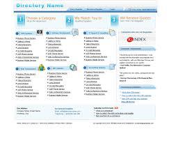 website directory website design psd 65 website template psd
