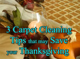 3 carpet clean up tips that could save your thanksgiving s