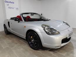 toyota roadster used toyota mr2 convertible 1 8 vvt i roadster 2dr in kilmarnock