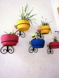 Wrought Iron Wall Planters by Stand Planter Wrought Iron Wall Stand Type 5 Online Shopping