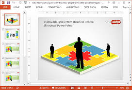 Jigsaw Puzzle Templates For Powerpoint Puzzle Powerpoint Template Free