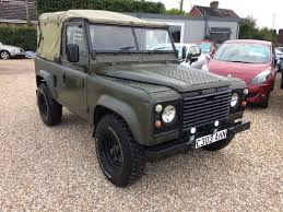 land rover defender 90 4c c reg 1985 fitted with a 200 tdi