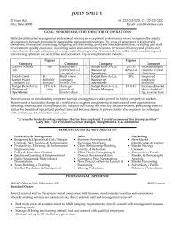 Automotive Resume Examples by Operations Resume Sample U0026 Template