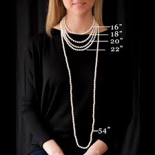 girl necklace size images 61 pearl necklace size majorica mixed size pearl cz necklace jpg