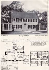 revival house plans colonial revival 1920s house plan no 3028 southern pine