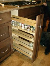 Spice Cabinets With Doors Majestic Pull Out Spice Rack Diy Diy Pull Out Spice Rack Plans To