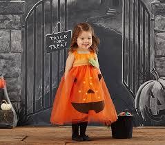 Pumpkin Costume Toddler Pumpkin Light Up Costume Pottery Barn Kids