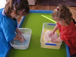 playing with gloop learning 4 kids