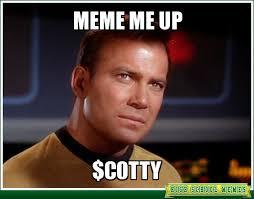 Kirk Meme - star trek monday 2