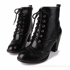 s plus size boots canada s plus size retro fashion lace up high heel boots