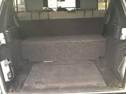 jeep wrangler speaker box custom speaker box tool storage in kc area jkowners com jeep