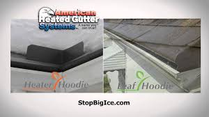 Wrap On Roof And Gutter Cable by Heated Gutters Youtube