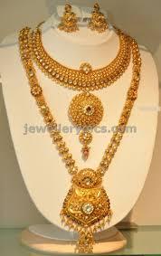 gold jewelry designs necklace images Khazana gold haram long necklace designs latest jewellery jpg
