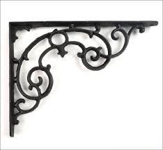 furniture amazing contemporary shelf brackets ornamental