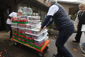 670 shoeboxes family floods donation program with gifts the