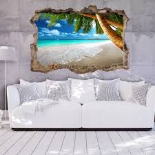 Living Room Wallpaper Ebay 3d Wall Illusion Wallpaper Mural Photo Print A Hole In The Wall