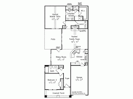 narrow homes floor plans eplans bungalow house plan narrow lot problem solved 1502