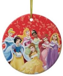 disney princesses tree ornament