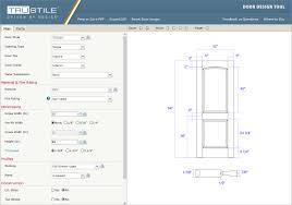 trucad door design tool trustile doors