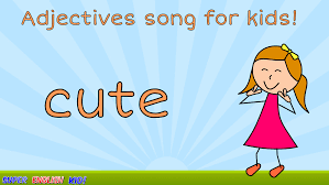 fun adjectives opposites song for kids with actions