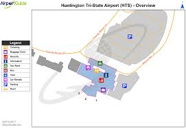 Atl Terminal Map Huntington Tri State Milton J Ferguson Field Hts Airport