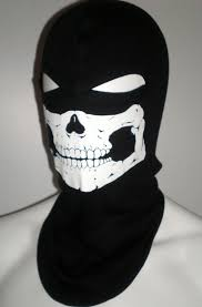 skeleton ghost mask skull balaclava motorcycle helmet liner mw2 ghost ski face mask