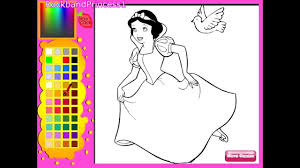disney princess snow white coloring pages coloring pages
