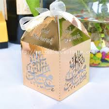 where can i buy a gift box aliexpress buy laser cut favor box eid mubarak party