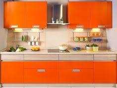 Orange Kitchen Cabinets 25 Contemporary Kitchen Design Inspiration Orange Walls Gray