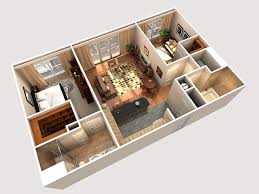 12 digital cutaway rendered floor plan cghj architects