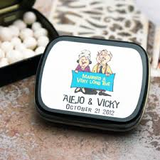 mint to be wedding favors wedding anniversary mint tins personalized wedding mint tins