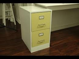 How To Paint A Filing Cabinet Updating A Metal File Cabinet Youtube