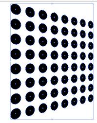 illustrator pattern polka dots transforming in perspective in illustrator creative beacon