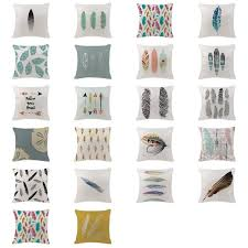 scandinavian color lovely nature cushion covers scandinavian feather color cushions