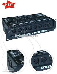 cheap low and retail 8ch dmx distributor dmx controller
